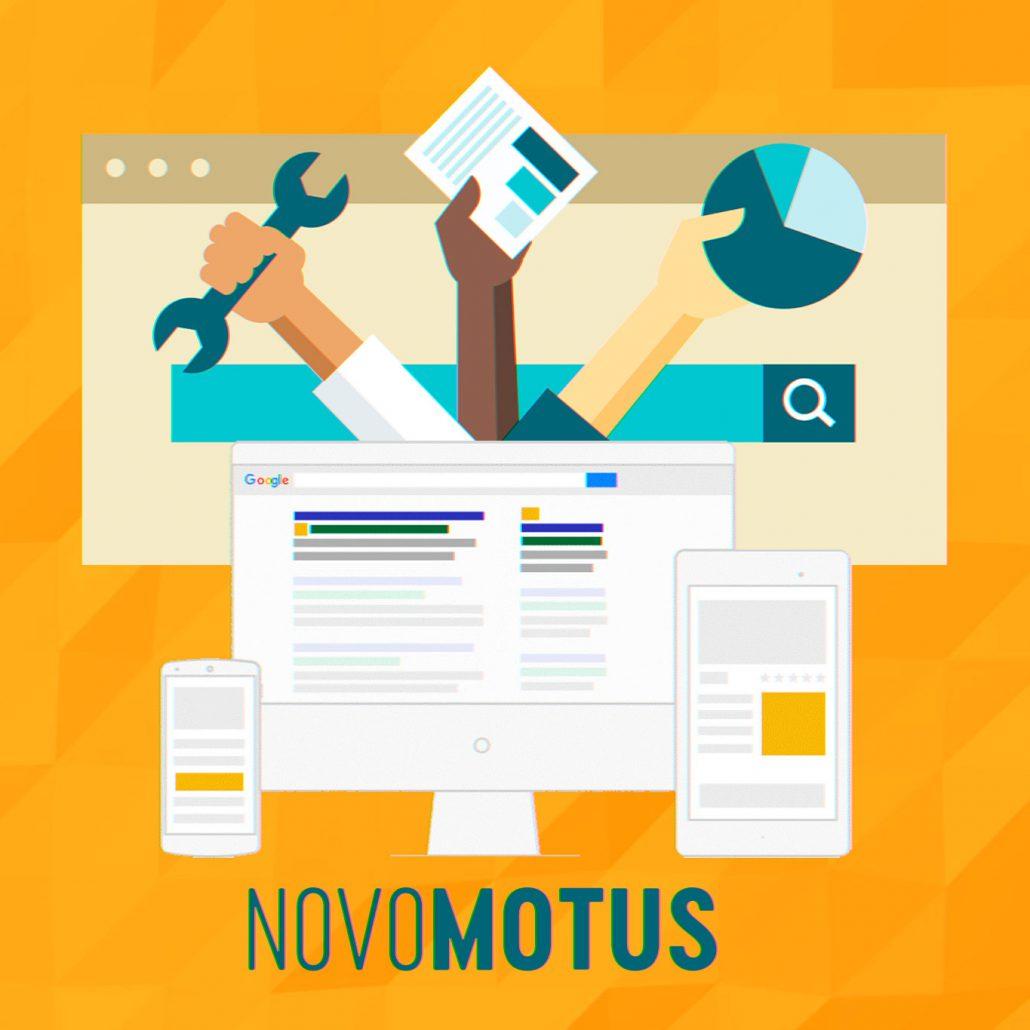 Digital Marketing & SEO Illustration Novomotus SEO