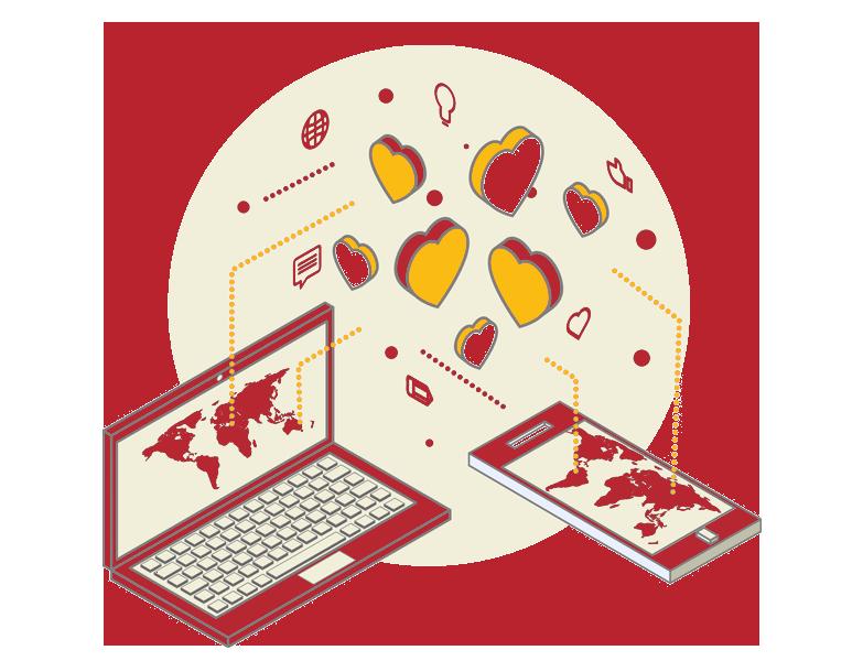 marketing-communications-isometric-illustration