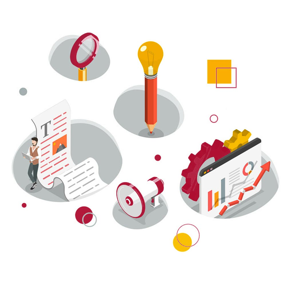 content-marketing-services-isometric-illustration